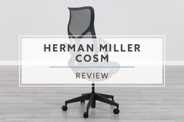 Herman Miller High-Back Cosm Chair with Leaf Arms (Review / Rating / Pricing)