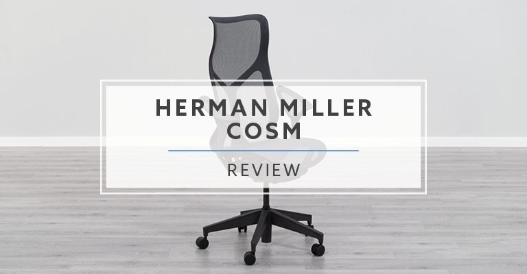 Herman Miller High-Back Cosm Chair with Leaf Arms Review Header