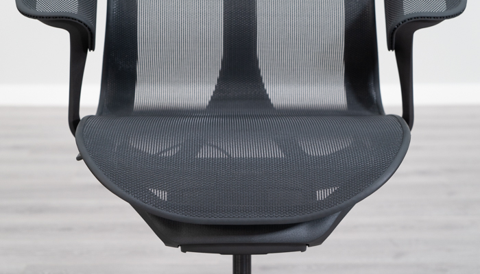 Front View of Cosm Mesh Seat