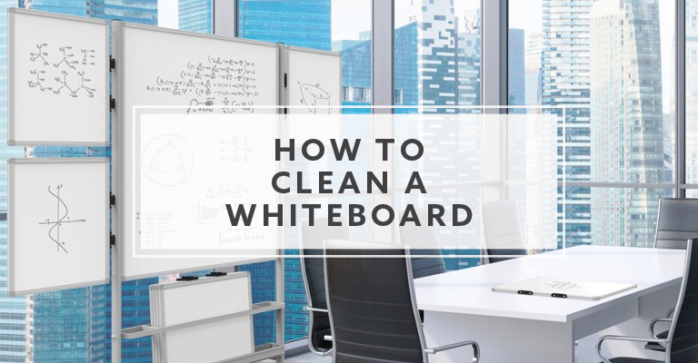 How To Clean a Whiteboard and Dry Erase Boards