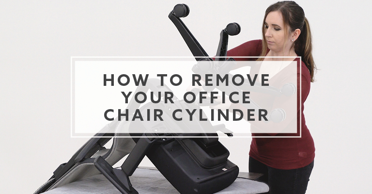 How to Remove an Office Chair Cylinder