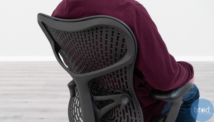Mirra 2 Backrest Seated in Chair