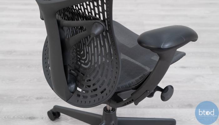 Herman Miller Mirra 2 Armrest and Back Build Quality