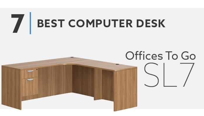 #7 Best L Shaped Computer Desk - OTG SL7