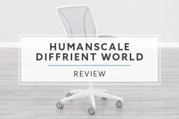 Humanscale Diffrient World Mesh Chair (Review / Rating / Pricing)