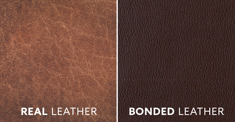 Real Leather vs. Bonded Leather Comparison