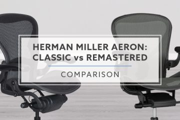 Herman Miller Aeron Classic vs. Remastered (8 Differences)