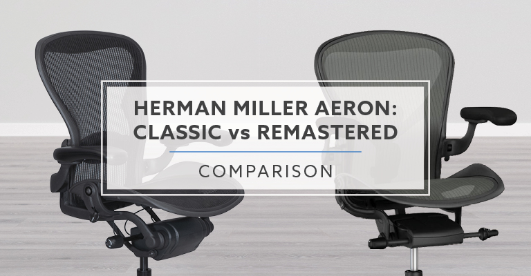 Herman Miller Aeron Classic vs. Remastered (8 Differences) Header