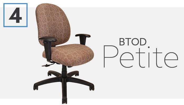 #4 Best Petite Office Chair BTOD Petite Series