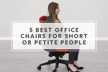 5 Best Office Chairs for Short or Petite People in 2020