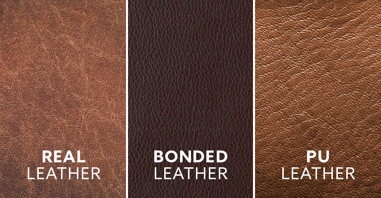 What is Real Leather, Bonded Leather and Faux Leather?