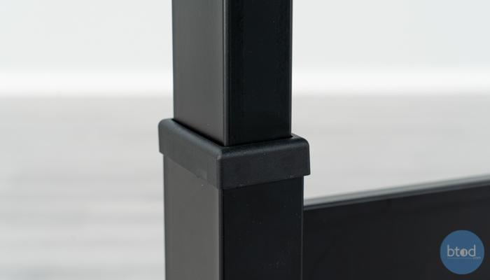 VertDesk v3 Plastic Cover On