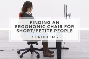 Top 7 Problems with Finding Ergonomic Office Chairs for Petite People