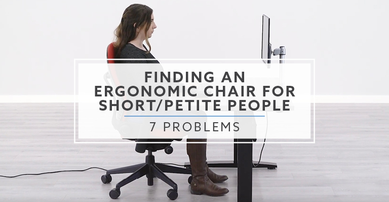 Top 7 Problems with Finding Ergonomic Office Chairs for Petite People Header