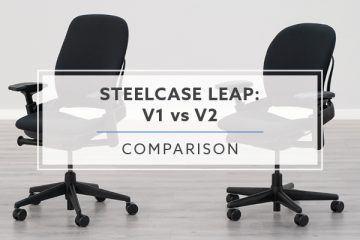 Steelcase Leap v1 vs. v2: What Are The 7 Major Differences?