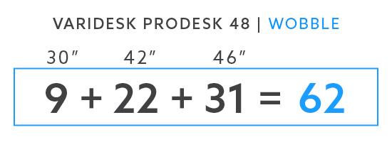 Varidesk ProDesk 48 Wobble