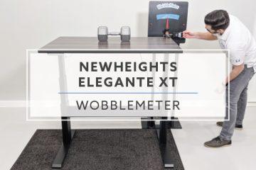 WobbleMeter: Stability Testing For NewHeights Elegante XT
