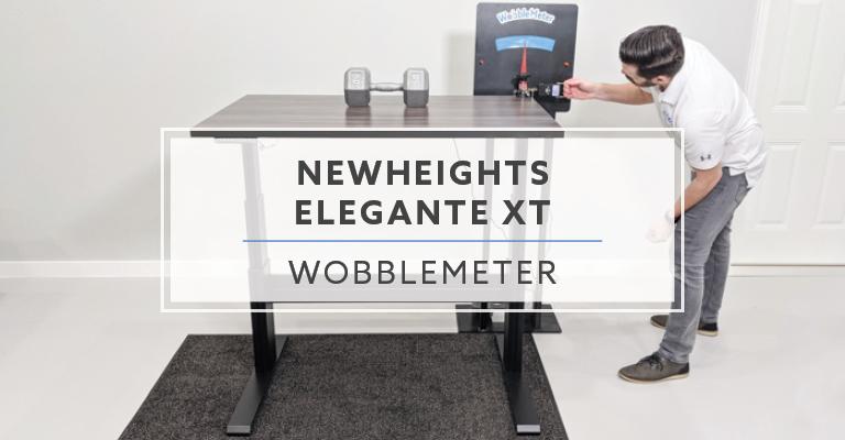WobbleMeter: Stability Testing For NewHeights Elegante XT Standing Desk Header