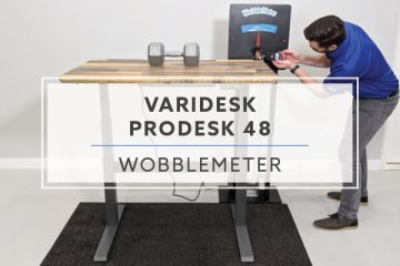 WobbleMeter: Stability Testing For VARIDESK ProDesk® 48 Electric