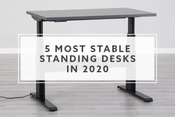 5 Most Stable Standing Desks Tested on WobbleMeter in 2020