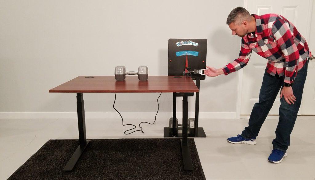 "Jarvis Wobble Deflection Test Setup @ 30"""