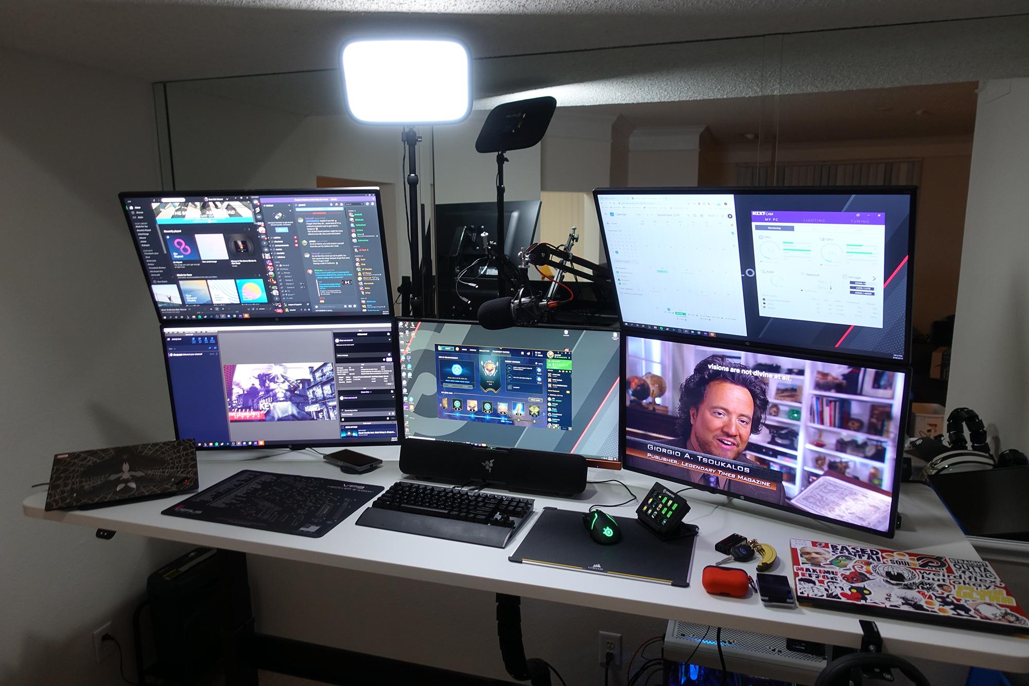 "30"" x 84"" Galaxy White Radius Corner Laminate Top with Black VertDesk Standing Desk Frame"