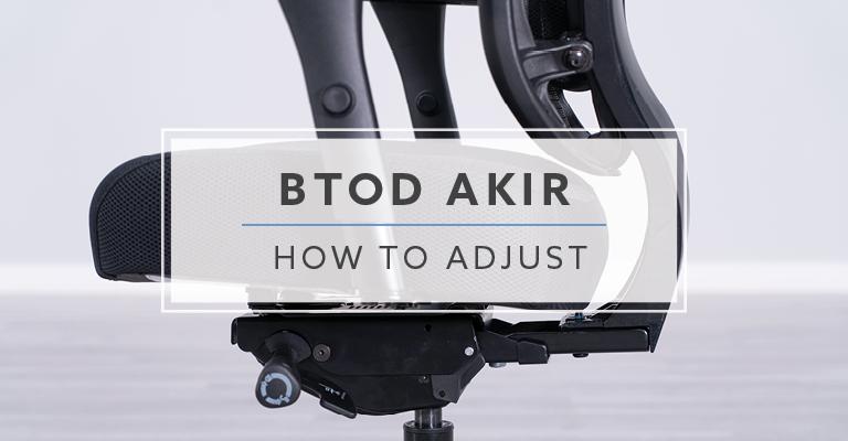 BTOD Akir How To Adjust
