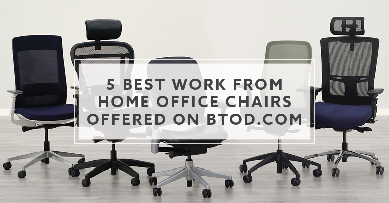 5 Best Work From Home Office Chairs