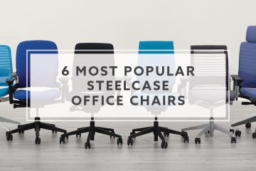 6 Most Popular Steelcase Office Chairs