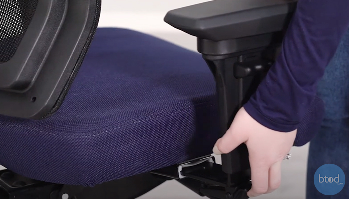 office chair armrest removal