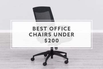 6 Best Office Chairs under $200 for 2021