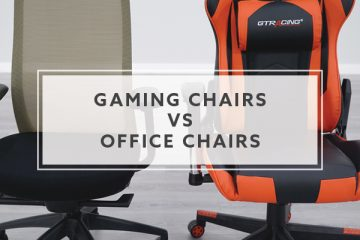 Gaming Chairs vs. Office Chairs: Which is Best?