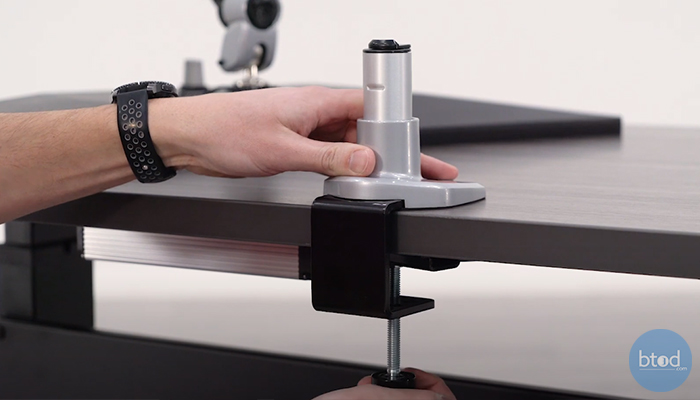 mounting monitor arms