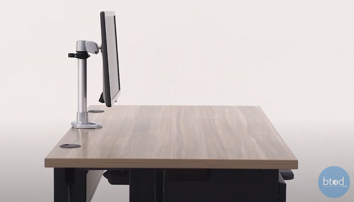 monitor arm stability