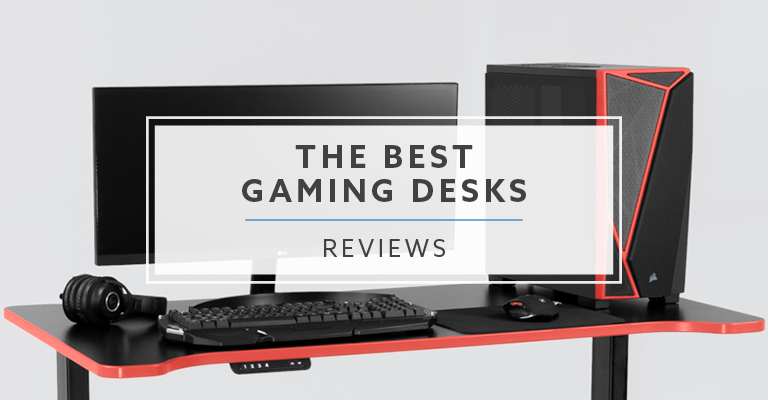 12 Best Gaming Desks For Pc And Console Gamers In 2021