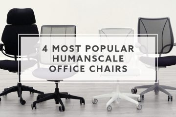 4 Most Popular Humanscale Office Chairs
