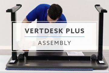 BTOD VertDesk v3 Plus Standing Desk Assembly