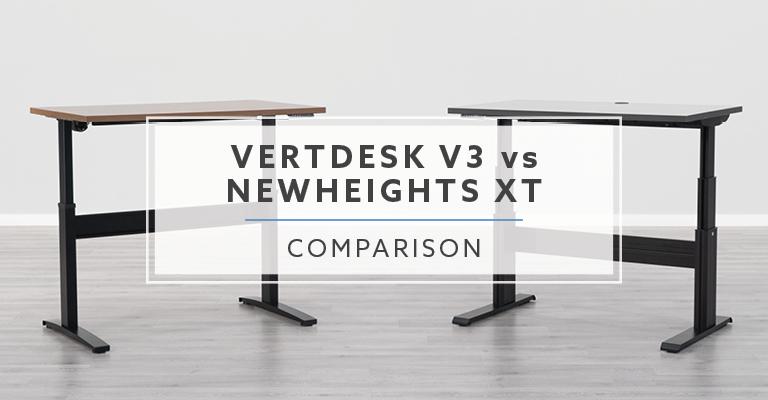 VertDesk v3 vs NewHeights XT: Which is the best standing desk?