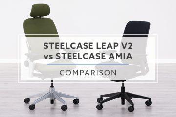 Steelcase Leap v2 vs. Steelcase Amia: Office Chair Comparison