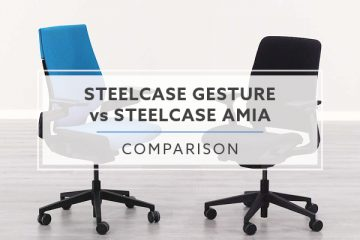 Steelcase Gesture vs. Steelcase Amia: Which Chair is Best?