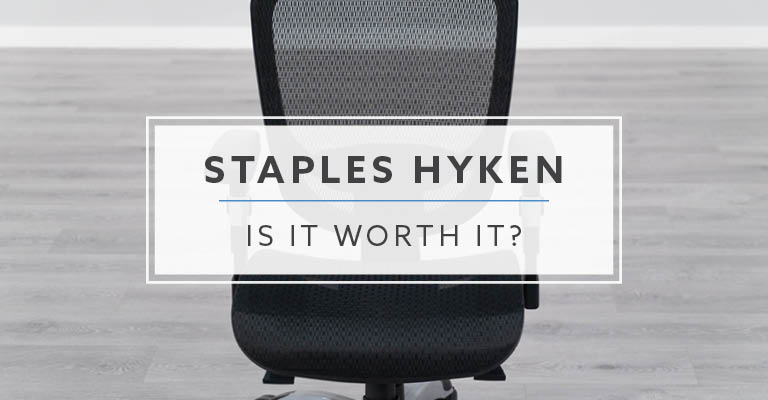 Staples Hyken Mesh Office Chair: Is It Worth It?