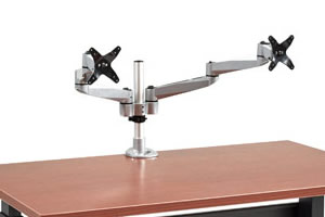 Dual Basic Monitor Arm