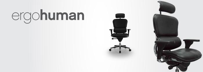 ergohuman high back leather office chair - Ergohuman