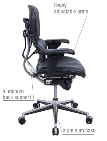 eco friendly 97 of the materials used on the ergohuman chair can be recycled - Ergohuman