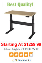 NewHeights Adjustable Desk