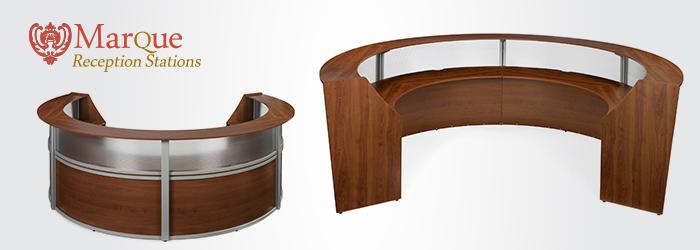 Ofm 55314 Marque Contemporary Plexiglass Lobby Desk