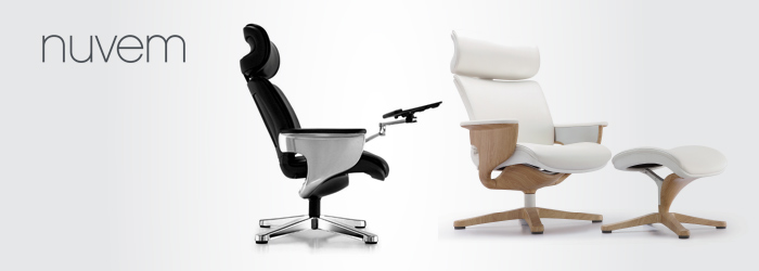 Description. Proform by Via Seating executive office chair & Eurotech Nuvem Chair Compare Herman Miller Eames Chair