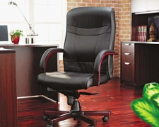 office wood pallet wood finish leather office chairs chairs shop the best executive desk