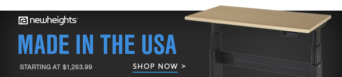 NewHeights Elegante Desks Made in the USA