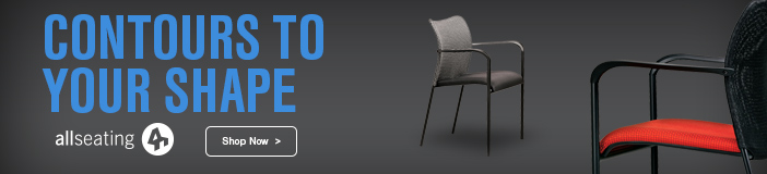 Go with the flow. Allseating Fluid Mesh Back Side Chair